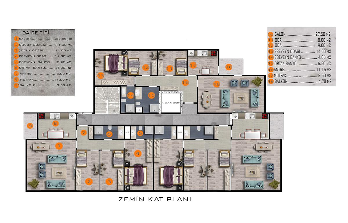 Yükseller İnşaat İpek Apartmanı